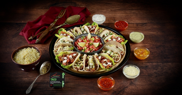 Delicious Tacos mad with JD Seasonings