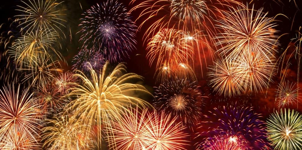 Fireworks at Bonfire Night Feast