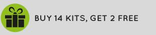 Buy 14 kits, get 2 free