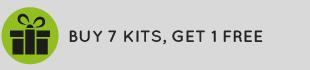Buy 7 kits, get 1 free