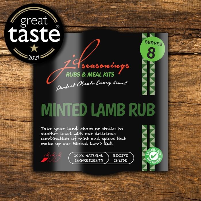 Minted Lamb Rub