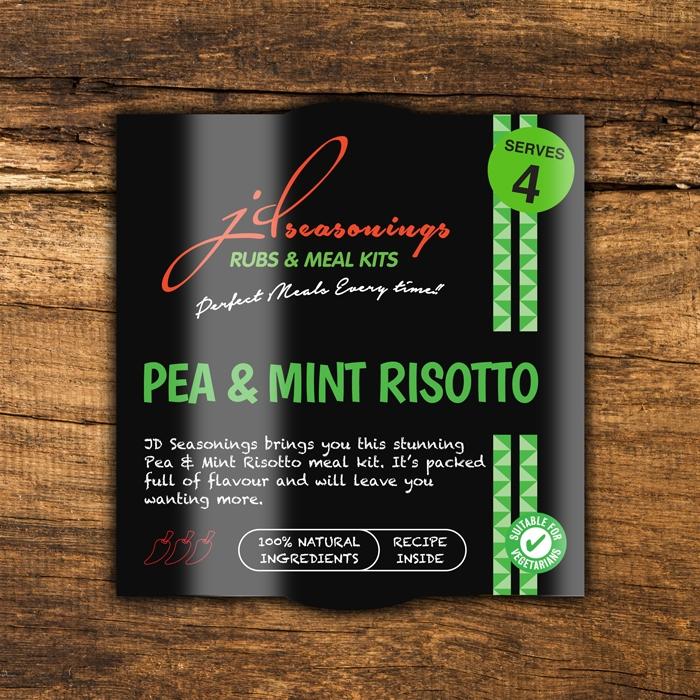 Risotto - Pea & Mint
