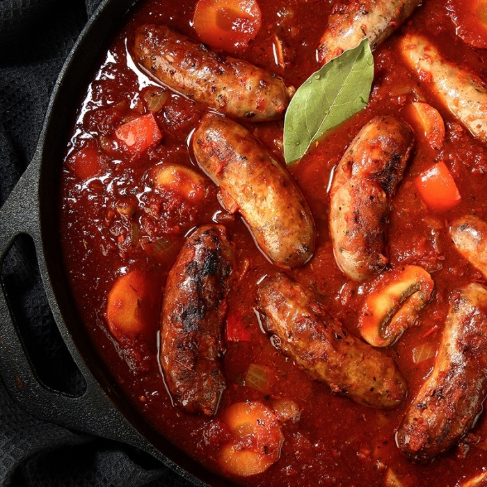 Sausage Casserole in the Flavours of the World