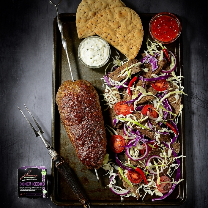 Doner Kebab in the Flavours of the World