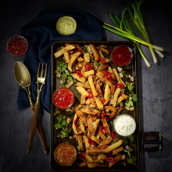 Salt & Pepper Chips in the Ultimate Flavours of the World