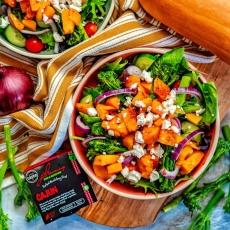 Cajun Butternut & Feta Salad