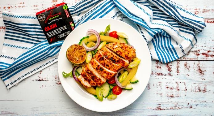 Cajun Chicken Salad Recipe made with JD Seasonings