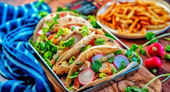Cajun Cod Tacos Recipe made with JD Seasonings