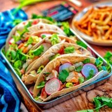 Cajun Cod Tacos