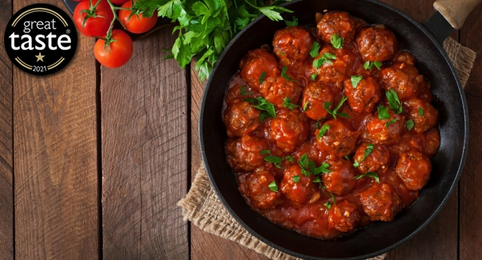 Delicious Cajun Meatballs made with JD Seasonings