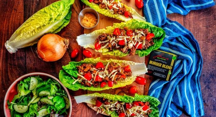 Cheeseburger Lettuce Wraps Recipe made with JD Seasonings