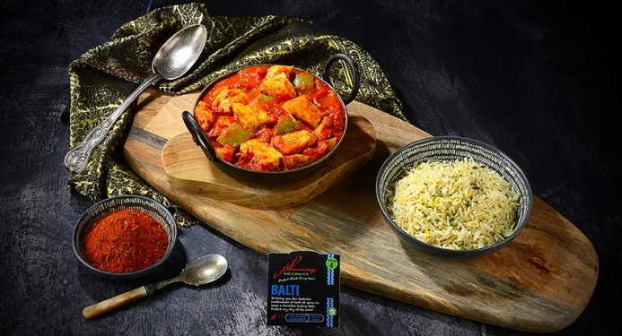 Chicken Balti Recipe made with JD Seasonings