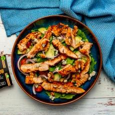 Chicken, Blue Cheese & Walnut Salad