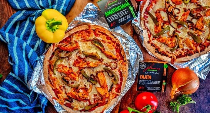 Chicken Fajita Pizza Recipe made with JD Seasonings