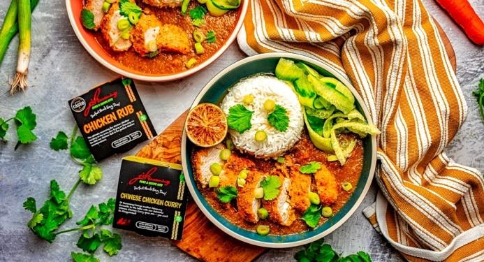 Chicken Katsu Curry Recipe made with JD Seasonings
