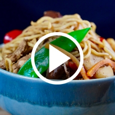 Chinese Chicken Chow Mein