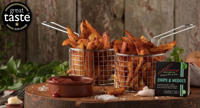 Chips & Wedges Recipe made with JD Seasonings
