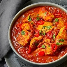 Hot Chicken Curry
