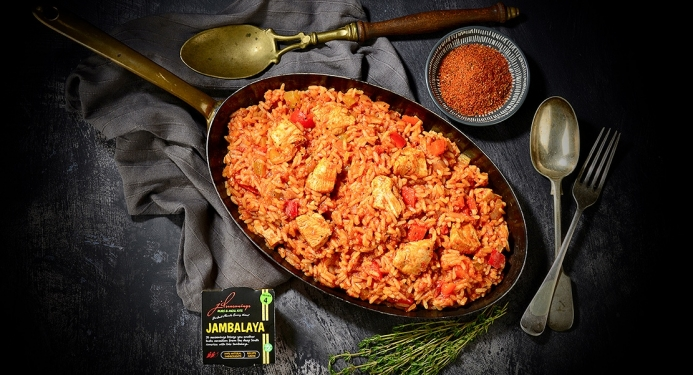 Delicious Jambalaya made with JD Seasonings