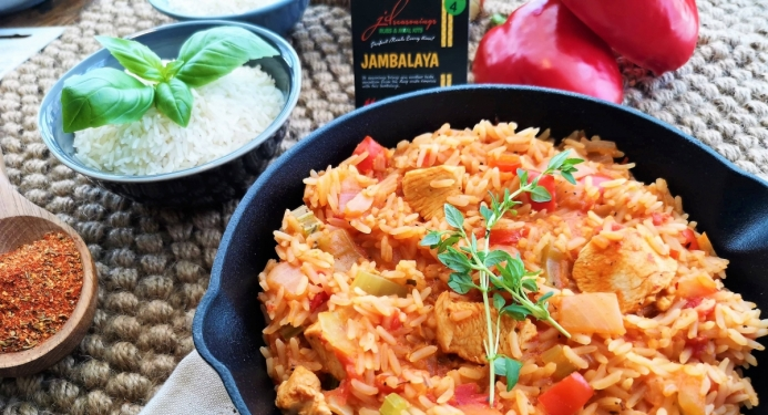 Delicious Jambalaya made with JD Seasonings