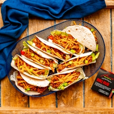 Maple BBQ Pulled Pork Tacos