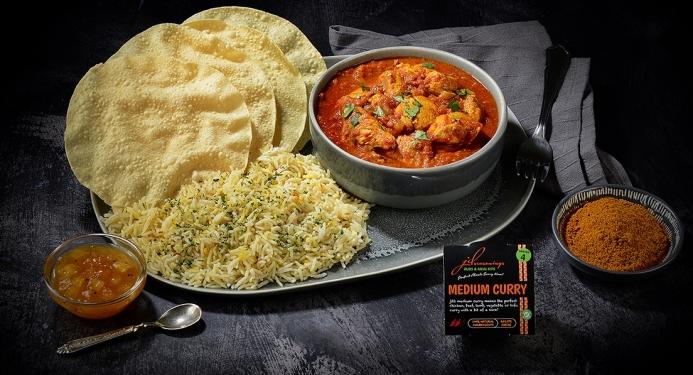 Medium Chicken Curry Recipe made with JD Seasonings