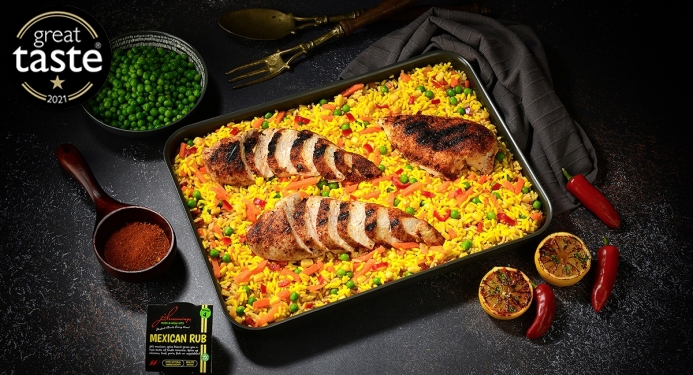 Mexican Chicken Recipe made with JD Seasonings