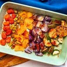 Mexican Roasted Veggies