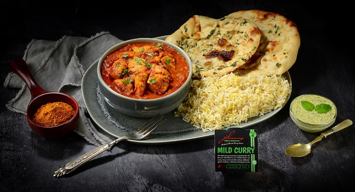 Mild Chicken Curry Recipe made with JD Seasonings