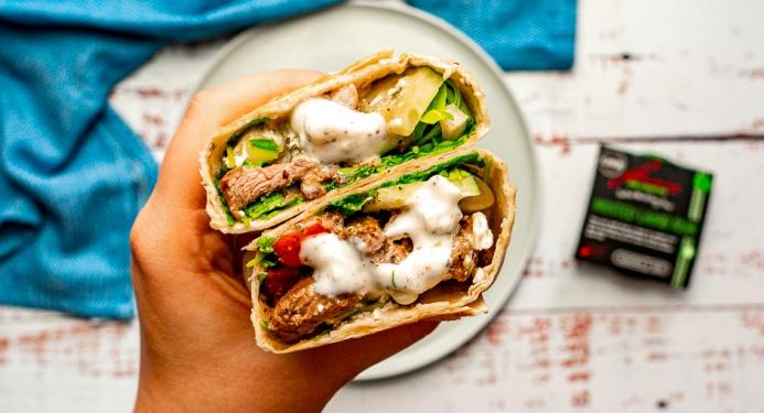 Minted Lamb and Feta Wraps Recipe made with JD Seasonings