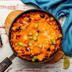 One-pot Chicken Fajita Rice