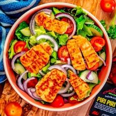 Piri Piri Halloumi Salad