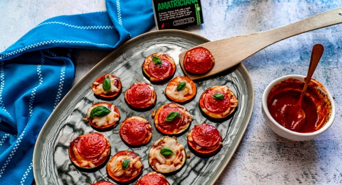 Pizza Bites Recipe made with JD Seasonings