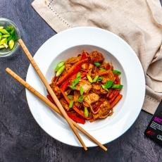 Salt and Pepper Chicken Chow Mein