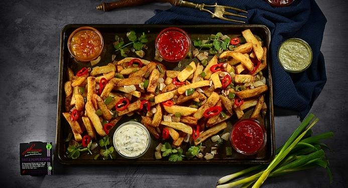 Salt & Pepper Chips Recipe made with JD Seasonings