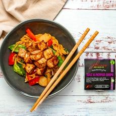 Salt & Pepper Tofu Stir Fry