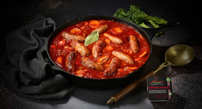 Sausage Casserole Recipe made with JD Seasonings