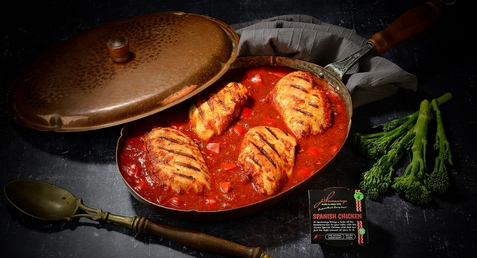 Delicious Spanish Chicken made with JD Seasonings