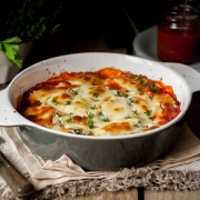 Spicy Bolognese Pasta Bake