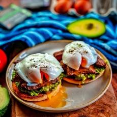 Steak & Avocado Muffins