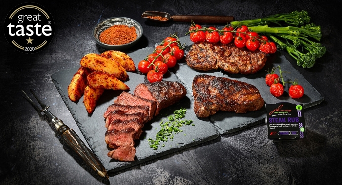 Steak Rub Recipe made with JD Seasonings