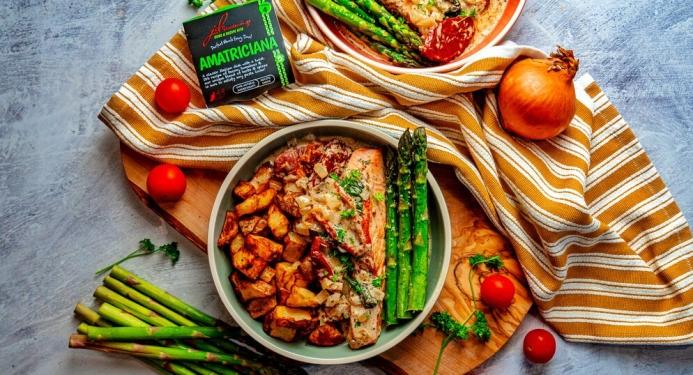 Tuscan Salmon Recipe made with JD Seasonings
